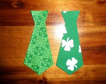 St. Patricks Day appliqué duo