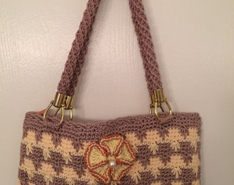 handmade Crochet Purse