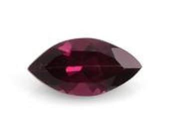 Rhodolite Garnet Marquise Cut Loose Gemstone 1A Quality 10x5mm TGW 1.00 cts.