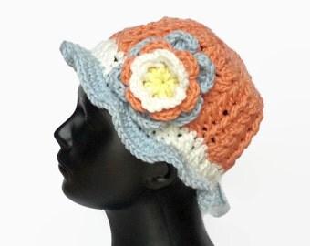 Crochet Spring Children's Hat