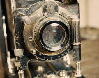 Kodak Camera 2 Photography Photographer  Vintage Antique  Rustic Shabby Chic Home Decor Wall Art Fine Art Photography