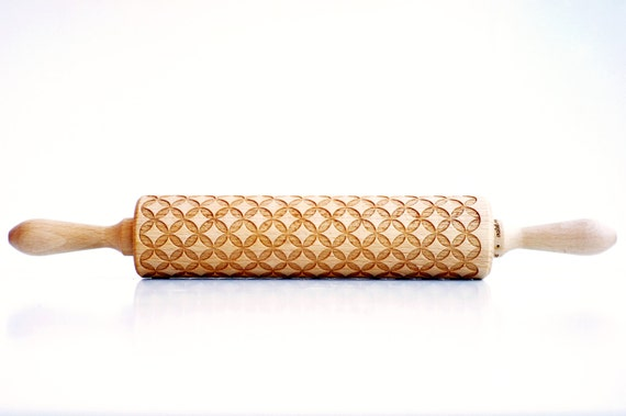 {design} Laser engraved rolling pins by Valek Rolling Pins