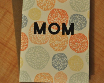 Mother's Day Card - Colorful Blossoms