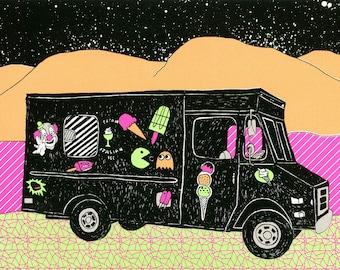 No.4 ice cream truck