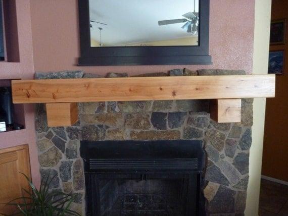 floating wall shelf fireplace mantel tv long x 5 5 ta