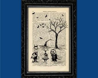 Children Nightmare Before Christmas Tim Burton Halloween Jack Poster Book Art Dorm Room Print Gift Print Wall Decor Poster Art (Nº3)