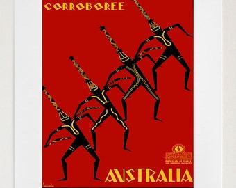 Art Print Australia Travel Poster (TR5)