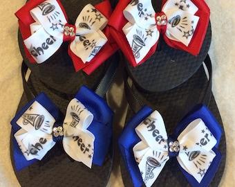 Cheer flip flops