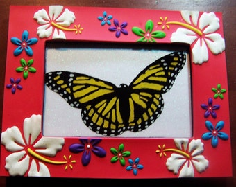 Butterfly Painting Glass Painting Painting On Glass Handcrafted