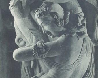Celestial Goddess ... 1950's print from Italy