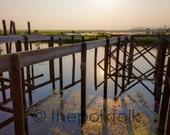 Marsh Mirror, Hwy 11, Slidell, Louisiana, Hurricane Katrina Damaged Camp