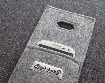 felt charging bag for galaxy s3 & s4