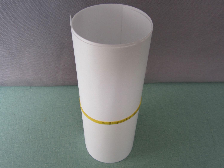 Self Adhesive Lamp Shade Kit : Styrene for lamp shades self adhesive by