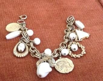 Retro 1950's Charm Bracelet