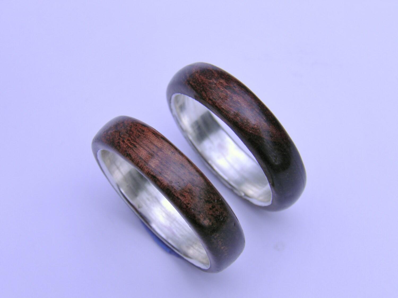 wood ring wood wedding band wood ring for women mens wood. Black Bedroom Furniture Sets. Home Design Ideas