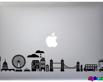 Adhesive sticker for Macbook Pro-LONDON-