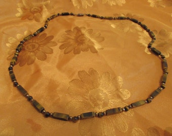 Tigers Eye Beaded Necklace