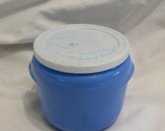 Walker's Honey Whip Jar - Medium Blue