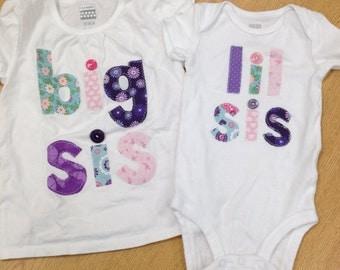 Lil OR Big Sibling Shirt