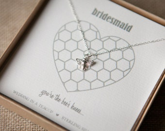 The Bee's Knees Sterling Silver Necklace