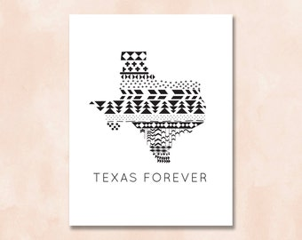 INSTANT DOWNLOAD + Texas Forever Print + 8x10 + Friday Night Light Quotes