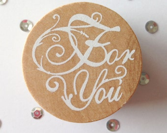 Stamp For You (Stamp For You), around (Round), 4 cm wide (wide)