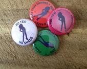 RuPaul's Drag Race fan pins: 4 1 inch buttons