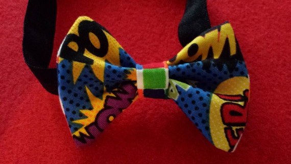 Comic Book Inspired Bow