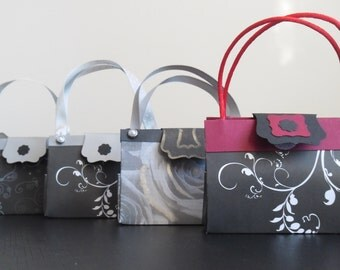 Hand crafted miniture Paper Purse favour