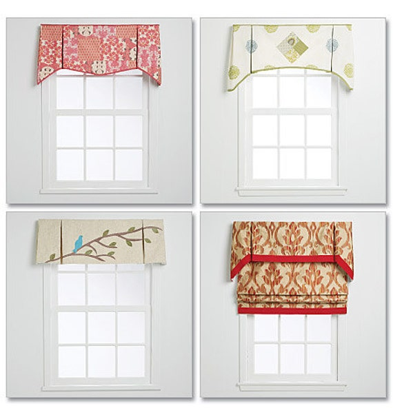 McCall's Pattern M6299 Window Valance