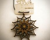 Lotus Mandala | Lasercut Pendant