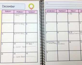 Monthly Planner {12 Months}