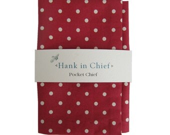 Alexander Pocket Chief: Red and white spots