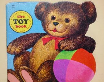 Vintage Golden Shape Book The Toy Book by Joe Kaufman