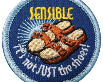 Sensible Shoes Gay Merit Badge