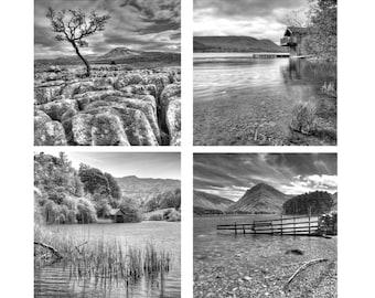 8 x English Landscape Greeting Card Set
