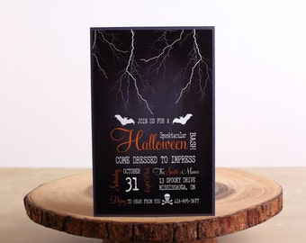 Halloween Party Invitations, Halloween Invitations - look 06