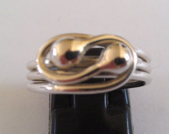 Handmade Solid 925 Sterling silver ring.