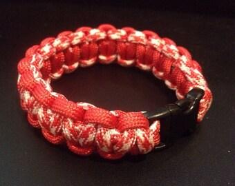 Cobra Knot Paracord Survival Bracelet