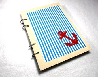 Notebook, wood, 15,5 x 22 cm, 100 pages (1316)