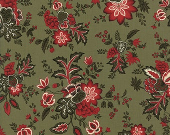 Moda fabric Merriment 32891-15...Sold in continuous cut 1/2 yard increments