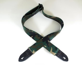 popular items for camo guitar strap on etsy. Black Bedroom Furniture Sets. Home Design Ideas