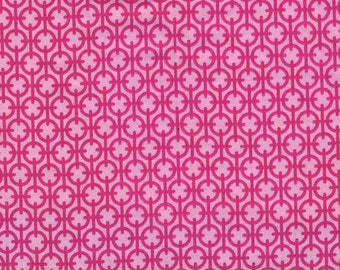 Designer premium quilting cotton fabric by the yard in pink by Paula Prass for Michael Miller. Need more fabric yardage? Just convo me.