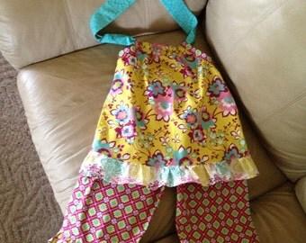 Ruffled Pant Set --Size 2-8