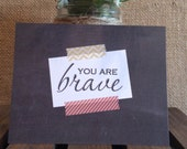 Encouraging Postcards || You are Brave, Enough, Loved, Worthy, Beautiful || Encouragement || Gift || Fun mail || Envelopes included