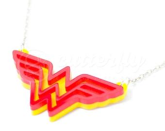 20% OFF - Wonder Woman Necklace
