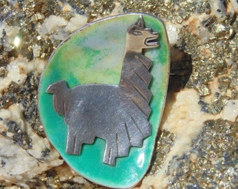 Graziella Laffi Peruvian Sterling Silver Llama Brooch