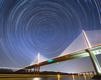 Stars over Chesapeake & Delaware Canal