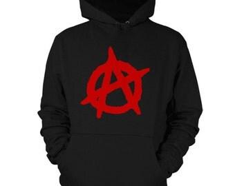 Anarchy Hoodie Revolt Sweatshirt Shirt