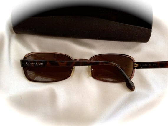 calvin klein sunglasses vintage sunglasses dark by ...